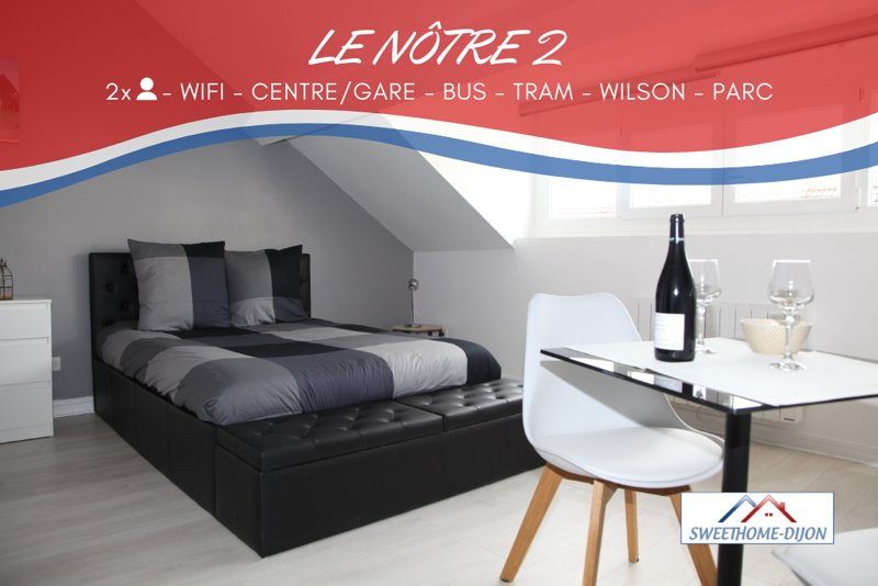 SWEETHOME DIJON - LE NÔTRE 2, vacation rental in Chenove
