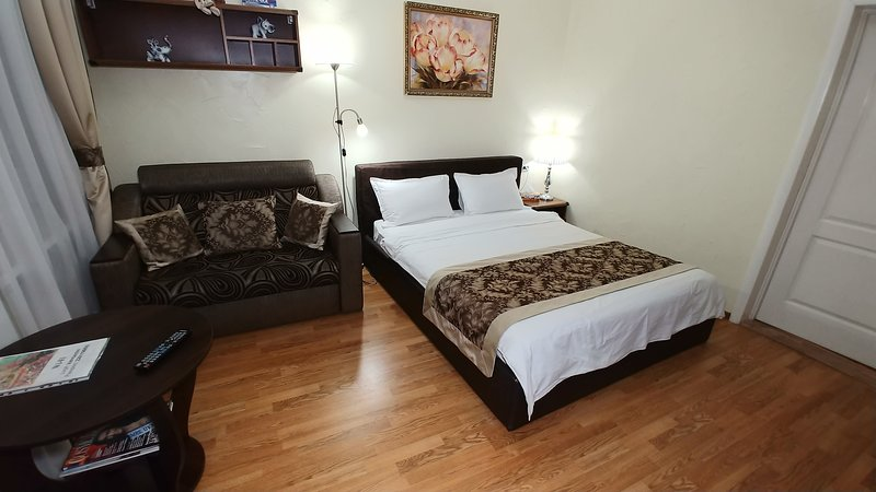 One bedroom 34 Mala Zhytomyrska str Maidan, vacation rental in Irpin