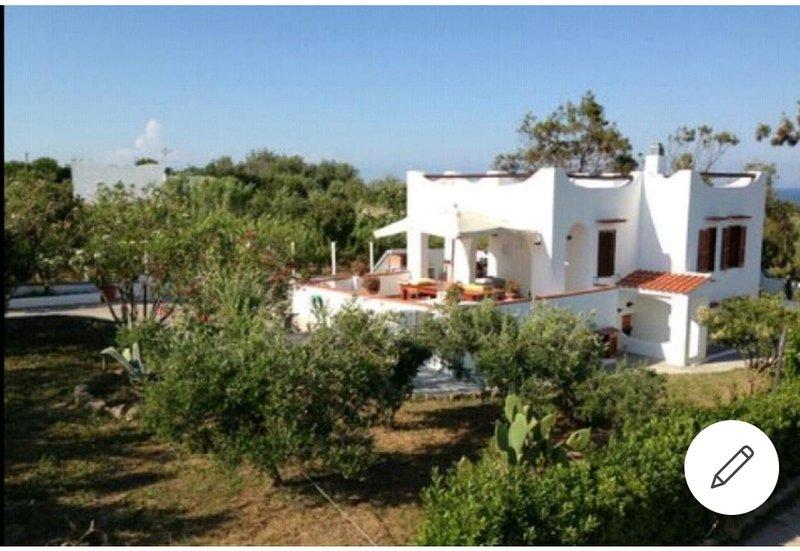 foto del villino con terrazzo di 40 mq ° ad esclusivo utilizzo degli ospiti