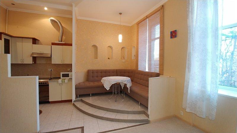 One bedroom 11 Pushkinska St Centre of Kiev, vacation rental in Irpin