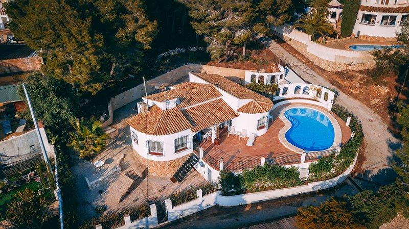 Casa La Collina - Rustige vakantiewoning in Spanje, alquiler vacacional en La Llobella