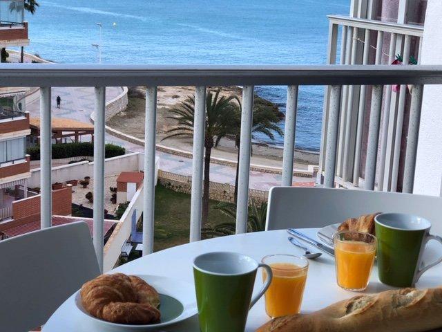 Vue Mer appartement à louer playa Arénal Bol, holiday rental in Calpe