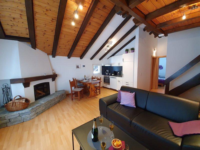 Bergdohle Dach A in Randa near Zermatt, casa vacanza a Randa