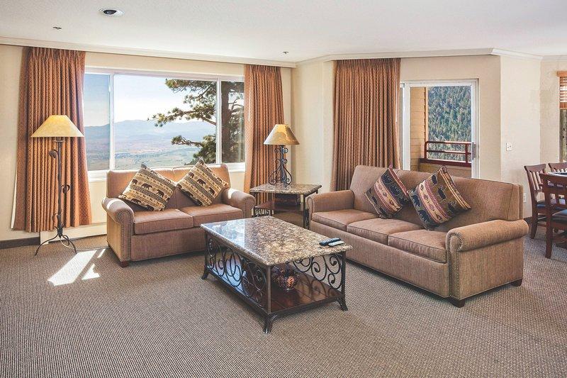 ¡Bienvenido a su acogedora y rústica suite de Heavenly!