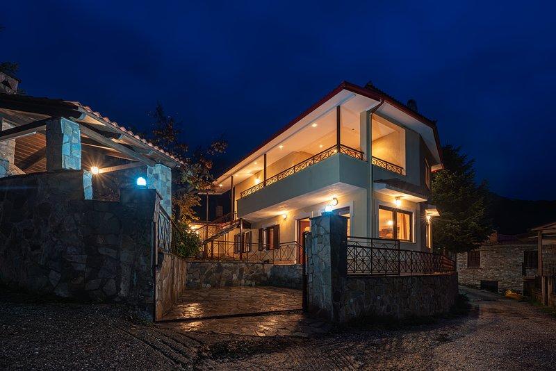 Villa Kleino: in the suburbs of Kalabaka and Meteora, holiday rental in Kalambaka