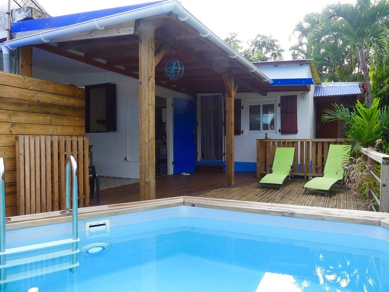 ENTRE MER ET RIVIERES, location de vacances à Capesterre-Belle-Eau