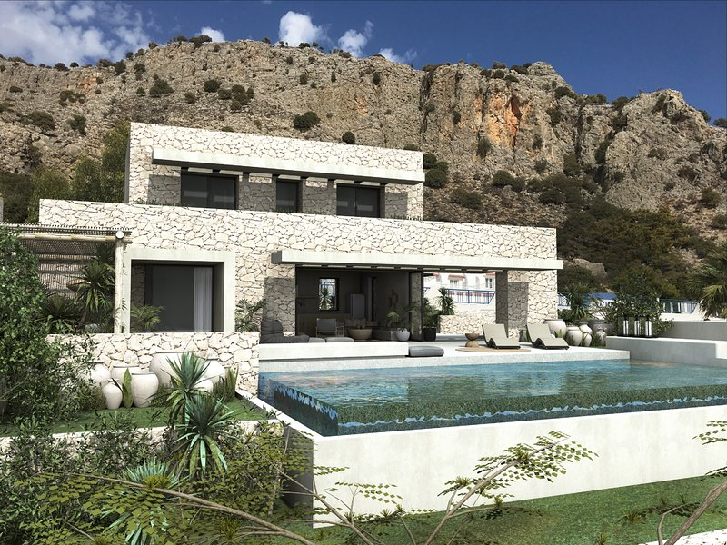 Lido Blue Villa, holiday rental in Pefkos