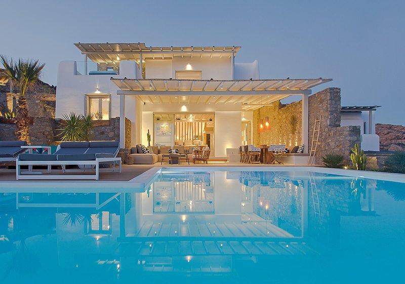 Villa Posseidon, alquiler de vacaciones en Elia