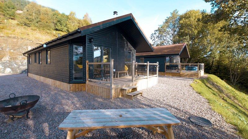 Boreland Loch Tay Ben Lawers Chalet, holiday rental in Loch Tay