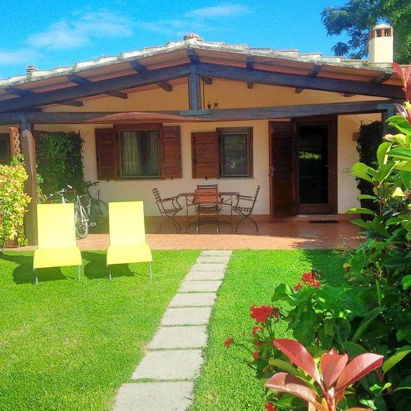 Beautiful house with terrace & Wifi, holiday rental in Pescia Romana
