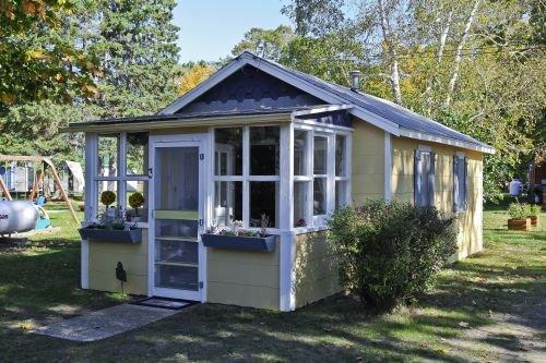 Bâtiment, Maison, Cottage, Extérieur, Nature