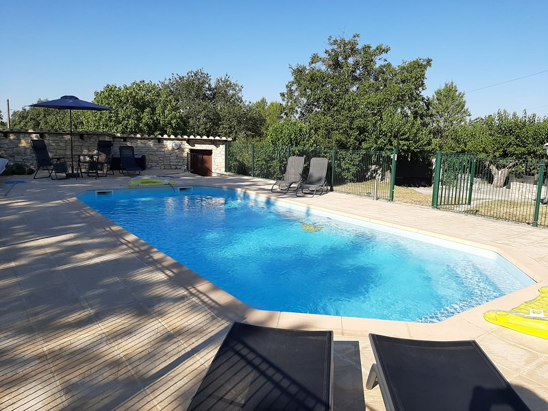 Amazing villa with swimming-pool, vacation rental in Servas