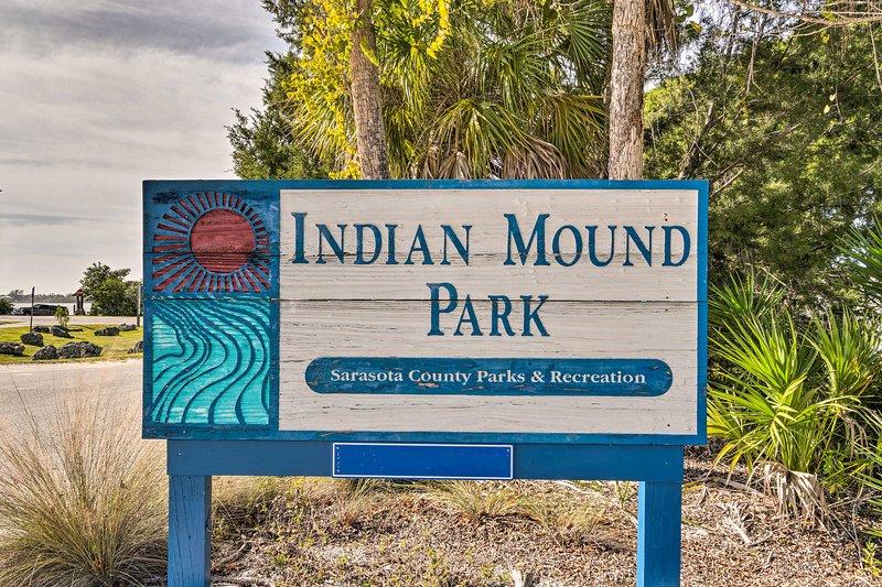 Il cottage si trova a poco più di un miglio da Indian Mound Park!