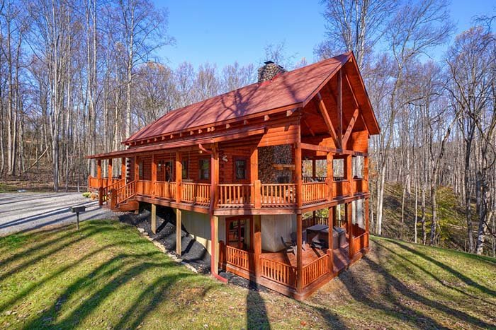 Rosewood Lodge - Luxury Log Homes in Hocking Hills, location de vacances à Laurelville