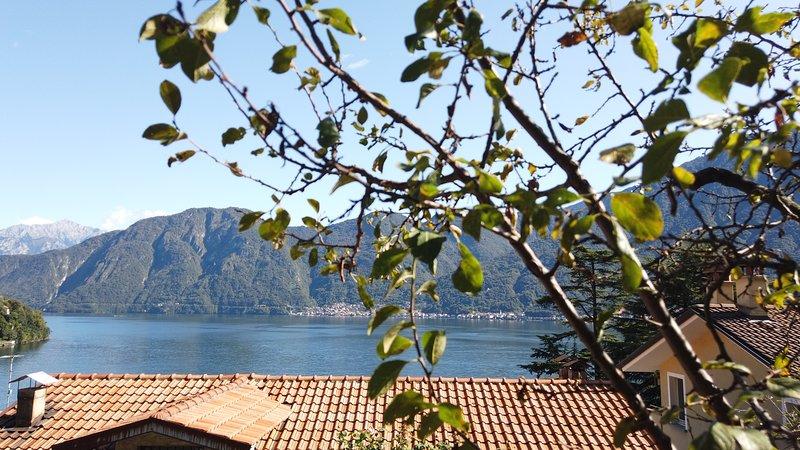 Apartment next Isola Comacina, Lake Como, location de vacances à Sala Comacina