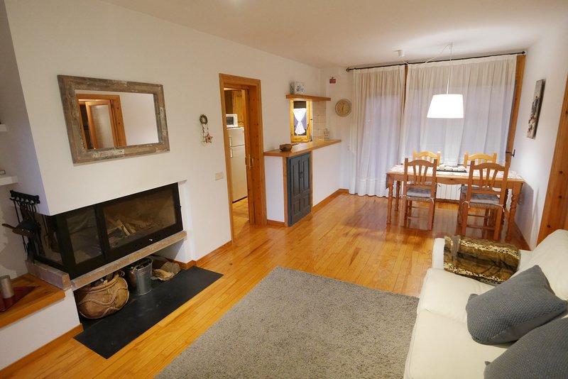 Cozy apartment en Alp con jardín y Wi-Fi, alquiler vacacional en La Molina