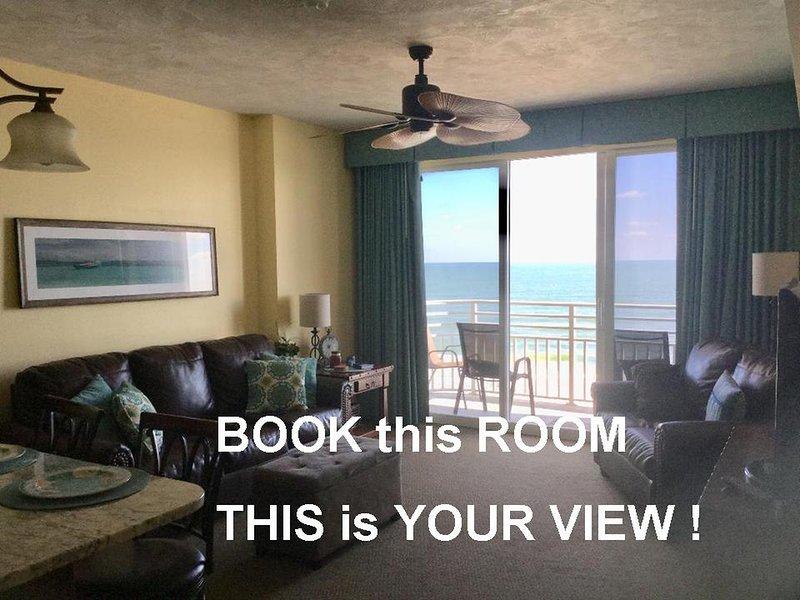 Ocean Walk Resort 702 Ultimate Ocean View Private Balcony, alquiler de vacaciones en Holly Hill