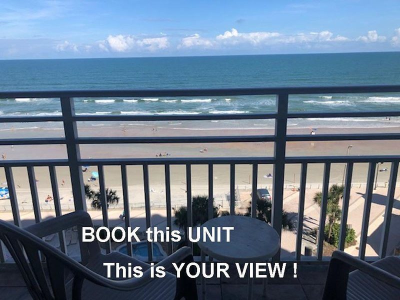Ocean Walk Resort ********AB Private Ocean View Balcony, holiday rental in Holly Hill