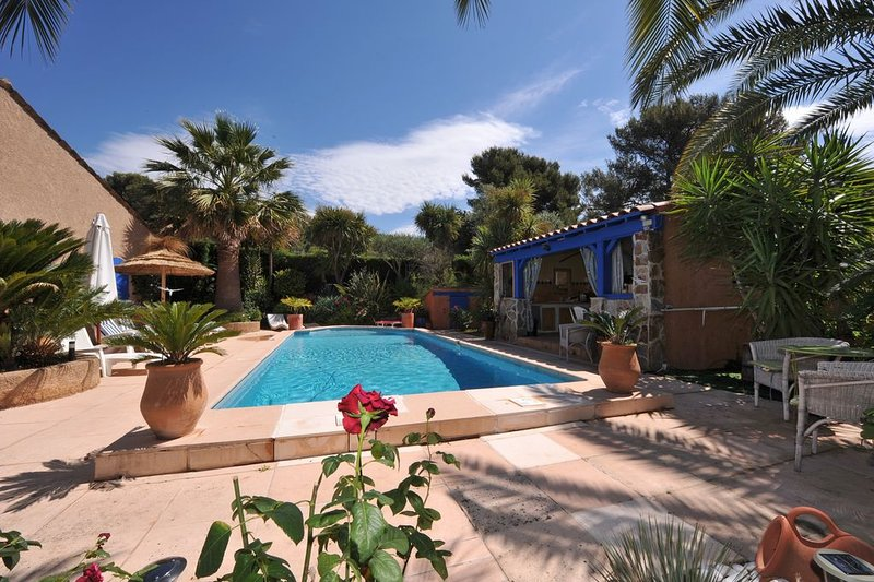 Amazing villa with swimming-pool, holiday rental in Carqueiranne