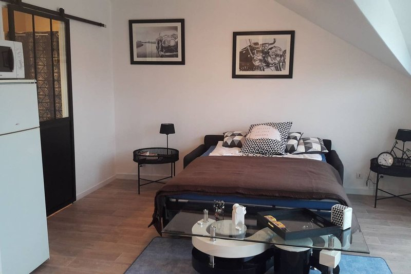 Beautiful studio in Compiègne, holiday rental in Thourotte
