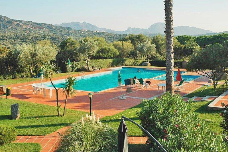 Mediterranean four bedrooms Villa close to Ira Beach in Porto Rotondo, holiday rental in Portisco