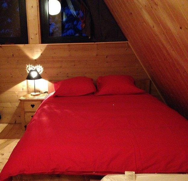 CHALET AVEC ACCES DIRECT AUX PISTES DE SKI, alquiler de vacaciones en Chamrousse