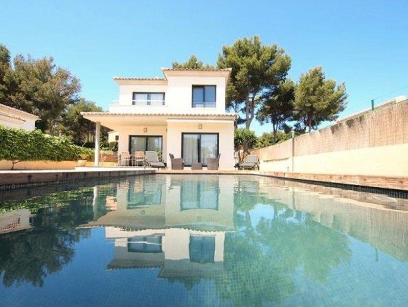 Villa Del Sur, para 8 personas en Port Adriano, Mallorca, casa vacanza a Sol de Mallorca