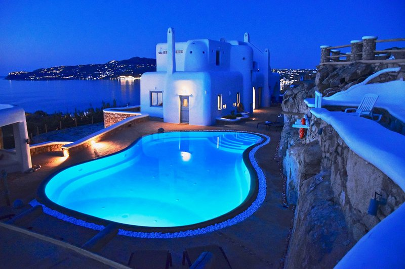 Villa Majestic, location de vacances à Agios Ioannis