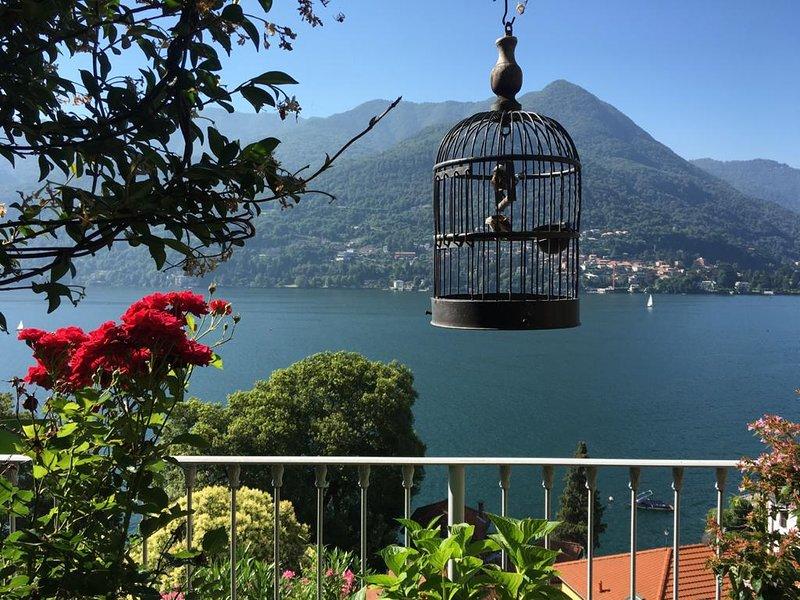 Elegant apartment for family at Lake Como, alquiler vacacional en Carate Urio