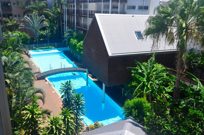 Apartment with shared pool, holiday rental in Saint Pierre