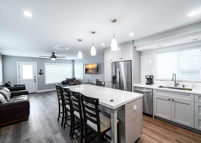 Beautiful kitchen with island