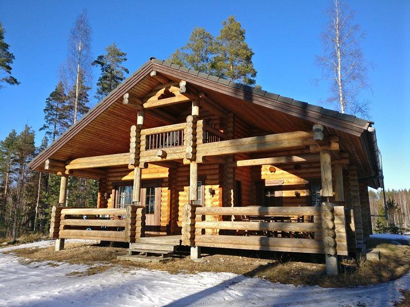 Lomalehto Cottages - Villa Katajanokka, location de vacances à Sulkava