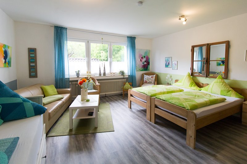 Holiday flat Nattkamp for 2-4 pers., 55 qm, own entrance on the ground floor, location de vacances à Oberhausen