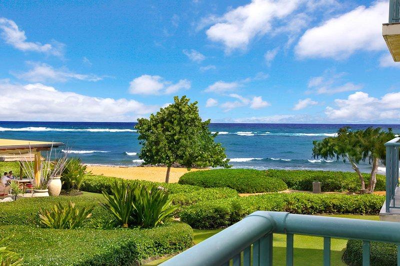 H204 Ocean and Beach View da Lanai