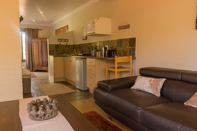 Offene Lounge und Küche