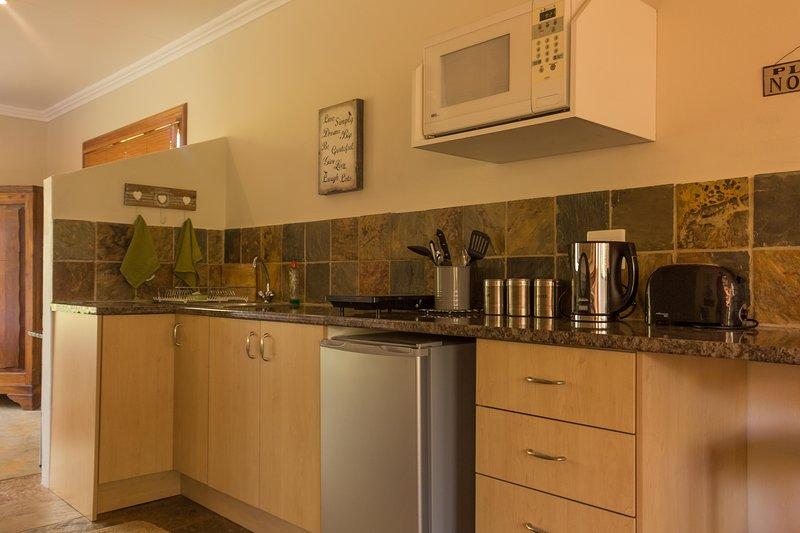 Moderne Küche zur Selbstversorgung