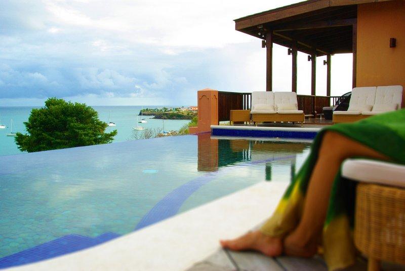 Calabash Resort Treefrog Villa, alquiler vacacional en Lance aux Epines