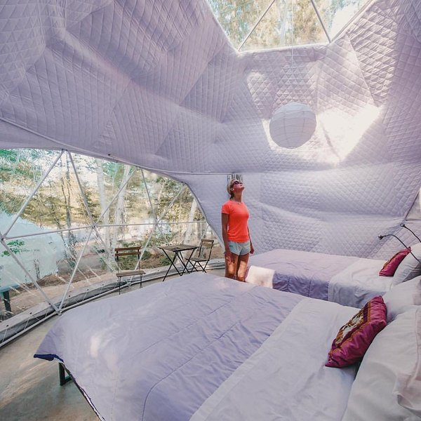 Blue Bayou Resort 2 queen size suite Geodesic Dome Just off the Cabot Trail, casa vacanza a Pleasant Bay