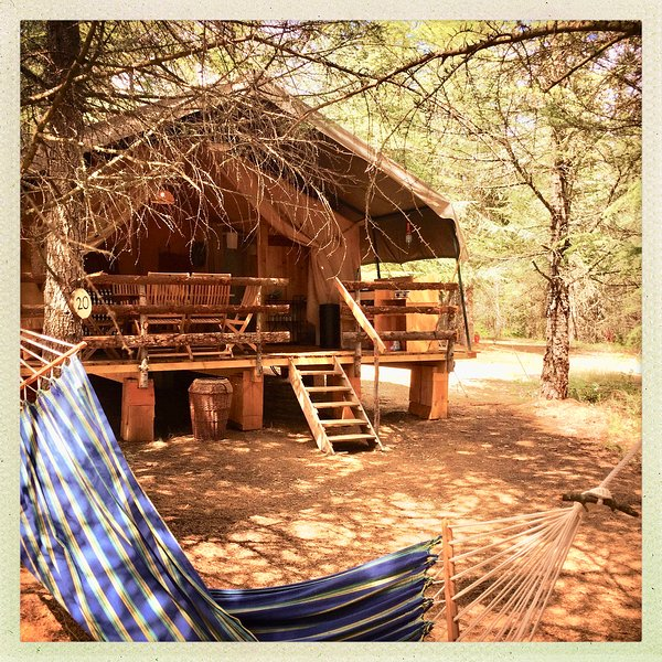 Glamping en Safari Lodge, holiday rental in Villardonnel