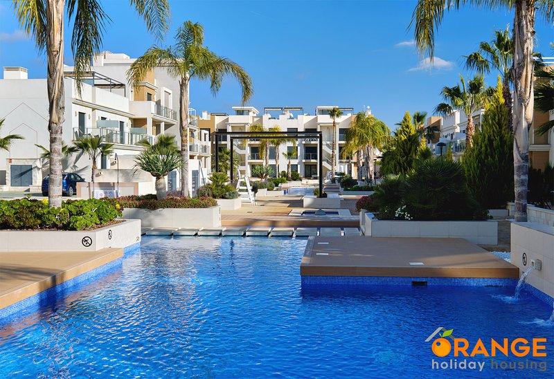 Orange Holiday Housing - Zenia Beach 074 (2 bedroom duplex), holiday rental in La Zenia