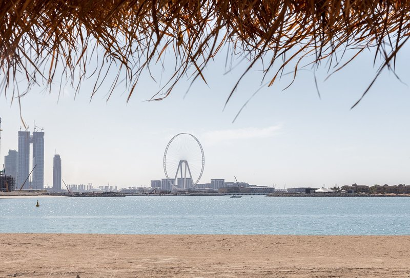 Dubai Eye from afar