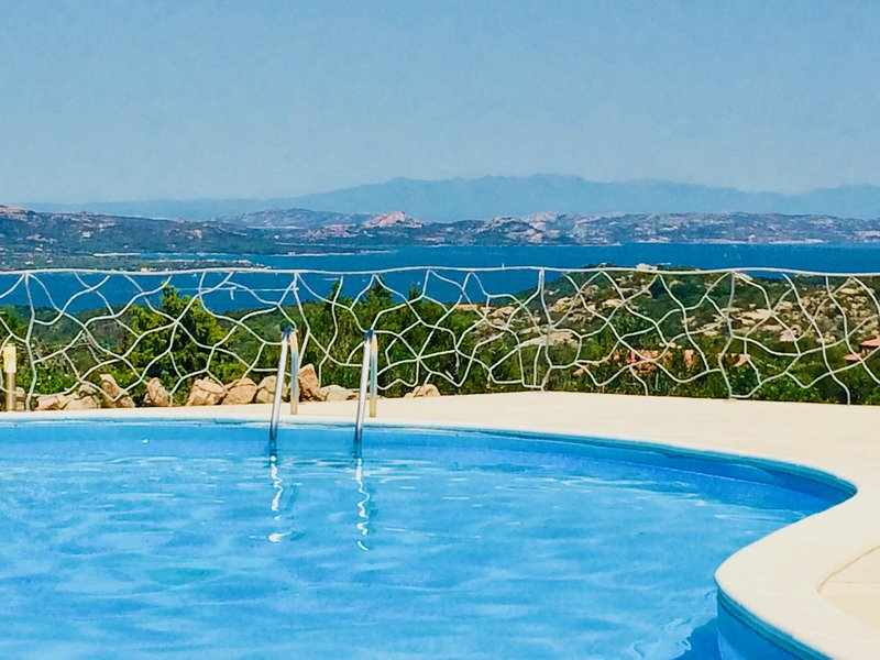Spectacular Sea View and Privacy near Porto Cervo, Sardinia - Sleeps 6/8, vacation rental in Arzachena