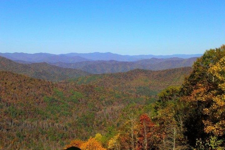 Fall Views in the Smoky Mountains National Park