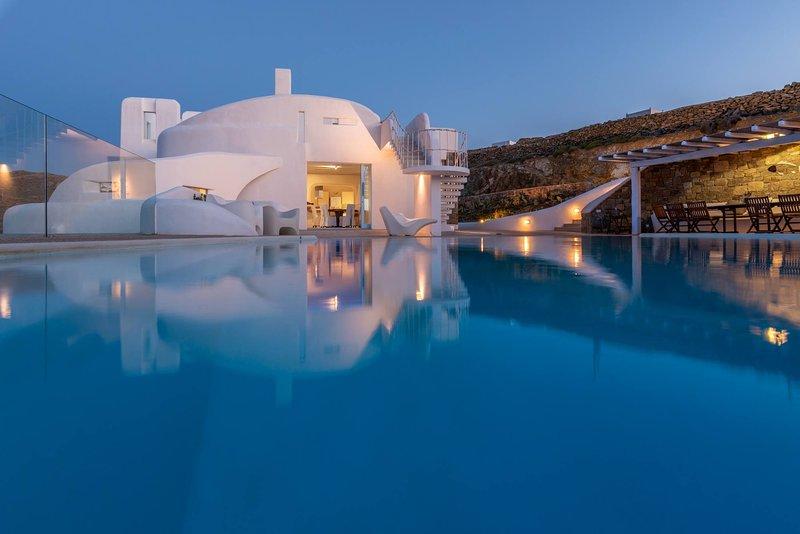 Fanari Ocean Villa, holiday rental in Faros Armenistis