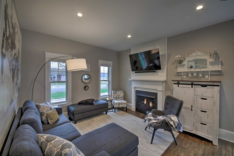 NEW! Renovated Craftsman House - 5 Mi to Vineyard!, vacation rental in Owenton