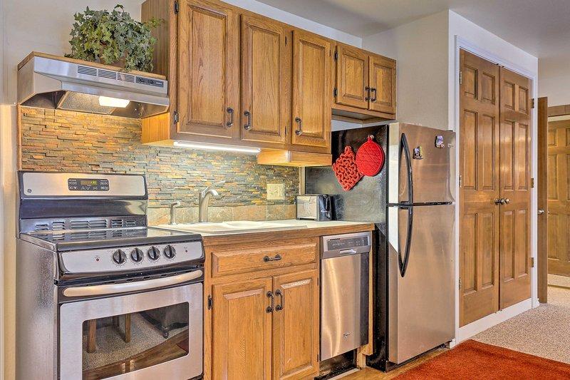 Goditi tutti i comfort di casa e comfort moderni in questo condominio.