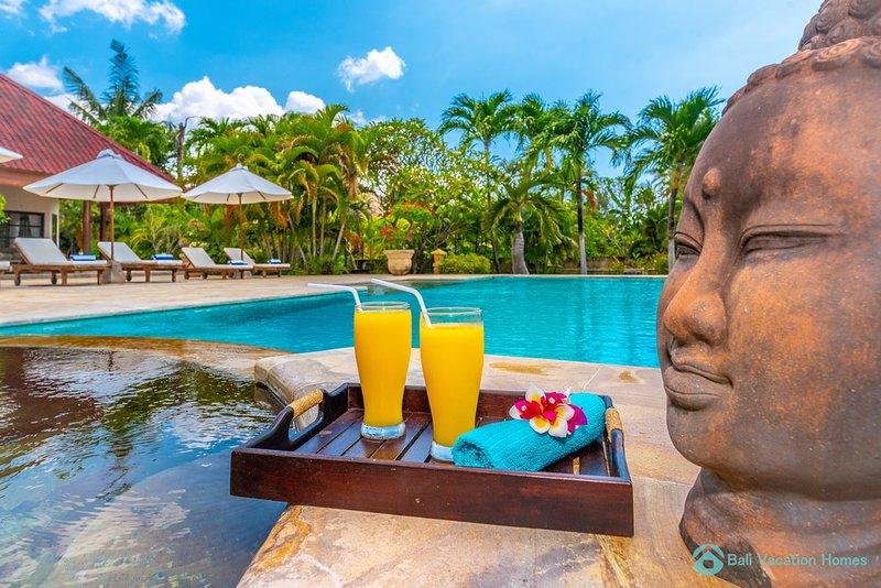 Lovina, ⭐️ ⭐️⭐️⭐️⭐️ prive strandvilla +zwembad,10P, holiday rental in Dencarik