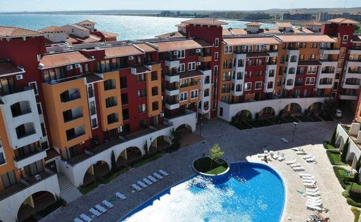 Marina Cape 30_23 - Comfortable studio for 4 people with Pool View, holiday rental in Kableshkovo