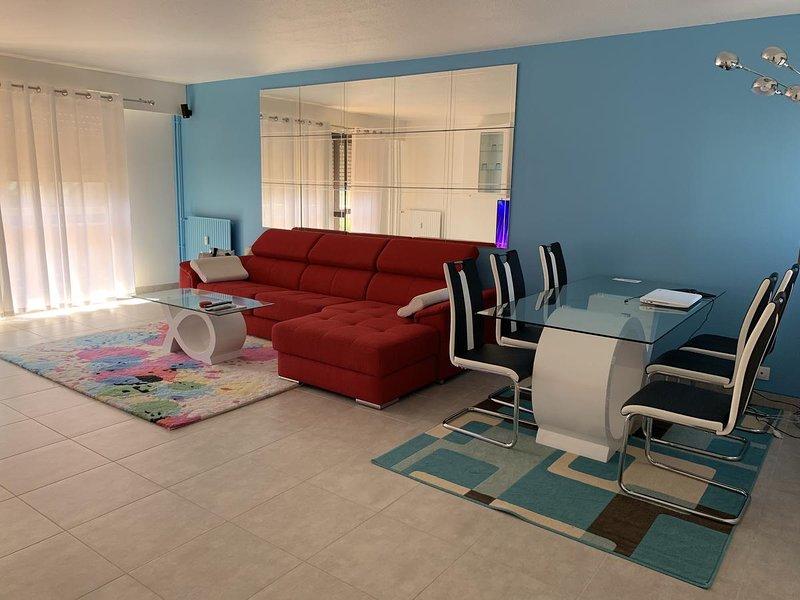 Amazing apartment with balcony, location de vacances à Dammarie-les-Lys
