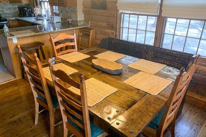 Dine in style at this new table!